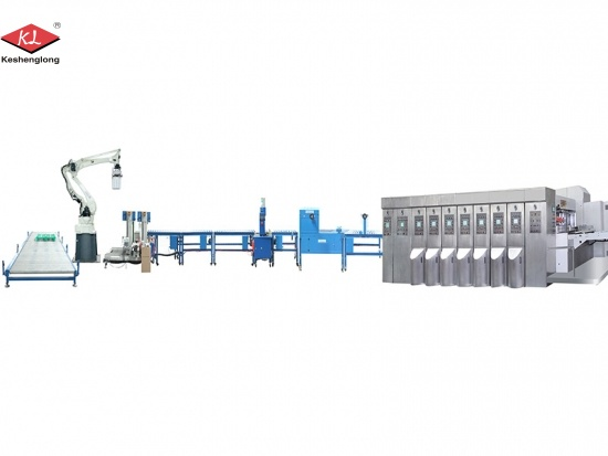 Automatic Corrugated Box Flexo Printing Machine