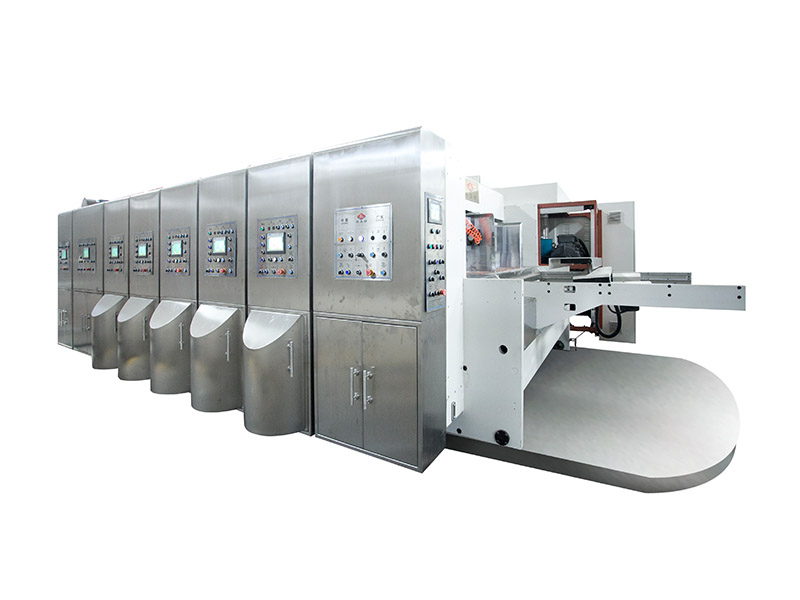 Flexo Printing Machine Speed