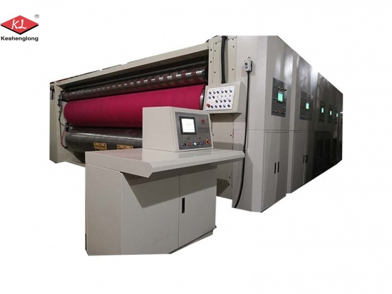 High-speed Flexo Printing Slotting Die-cutting Machine