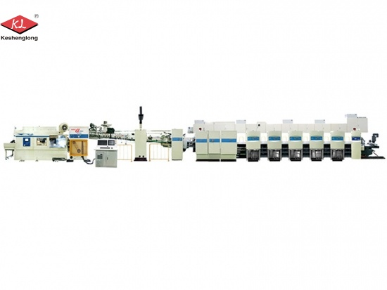 Automatic Carton Priner Inline Folder Gluer Prices